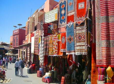 Casablanca Marrakech 1 day tour