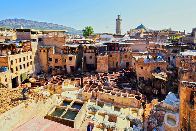 fes city morocco