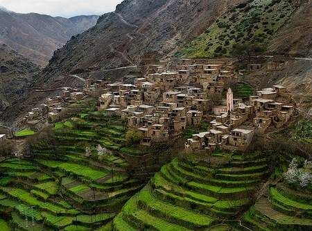 ourika morocco high atlas mountains
