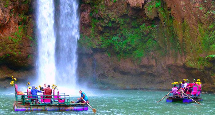 day tour to ouzoud waterfalls