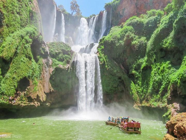 ouzoud morocco, travel morocco