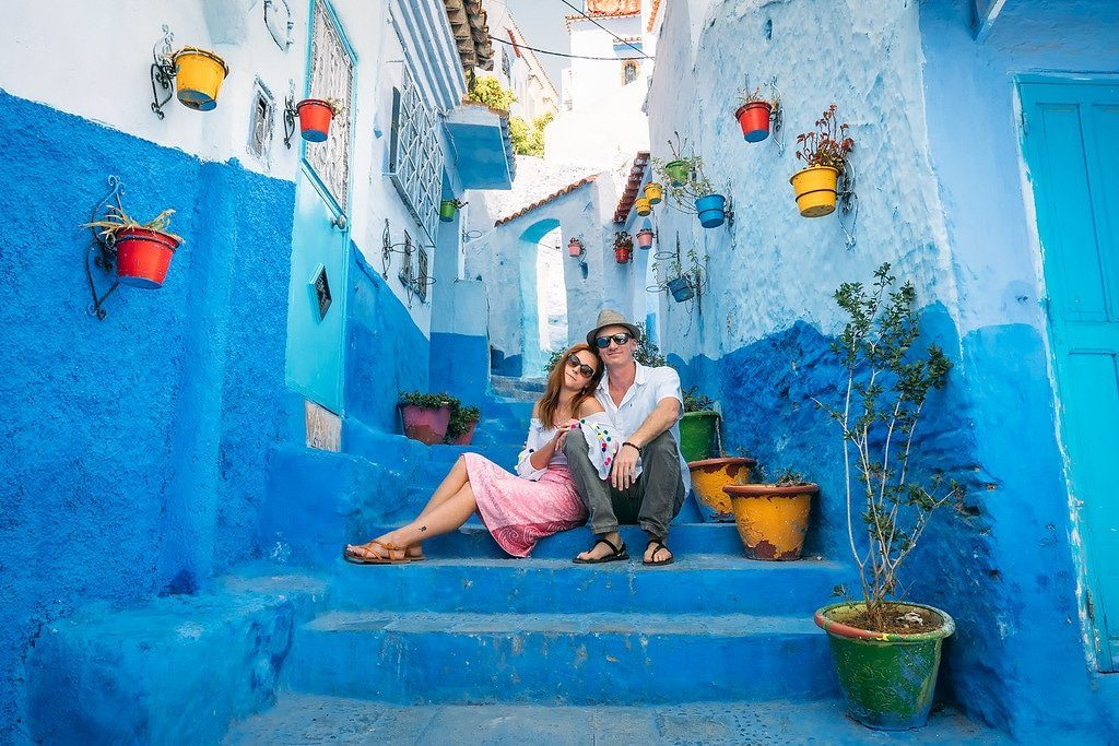8 days from Casablanca chefchaouen city, 6 days morocco tour